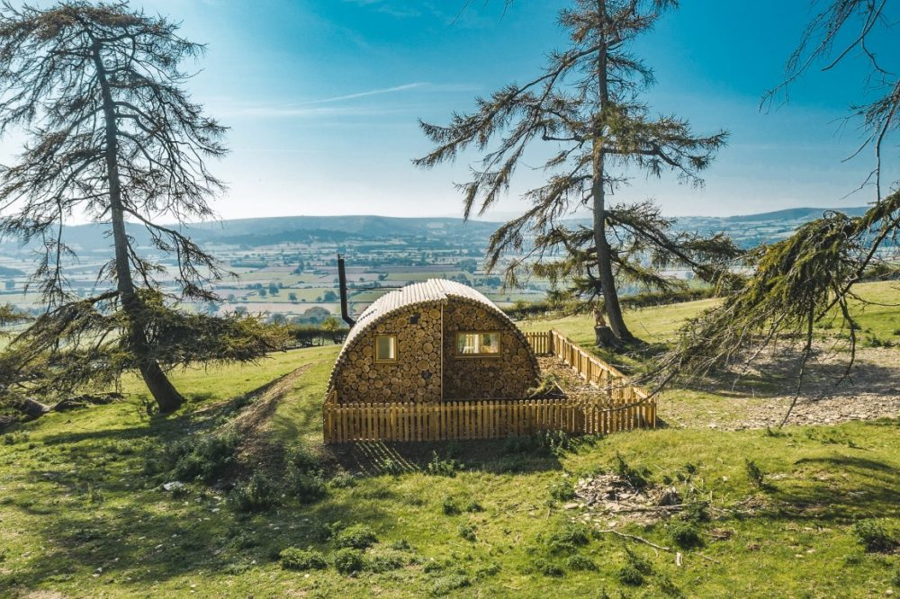 Unique glamping Pod in Wales