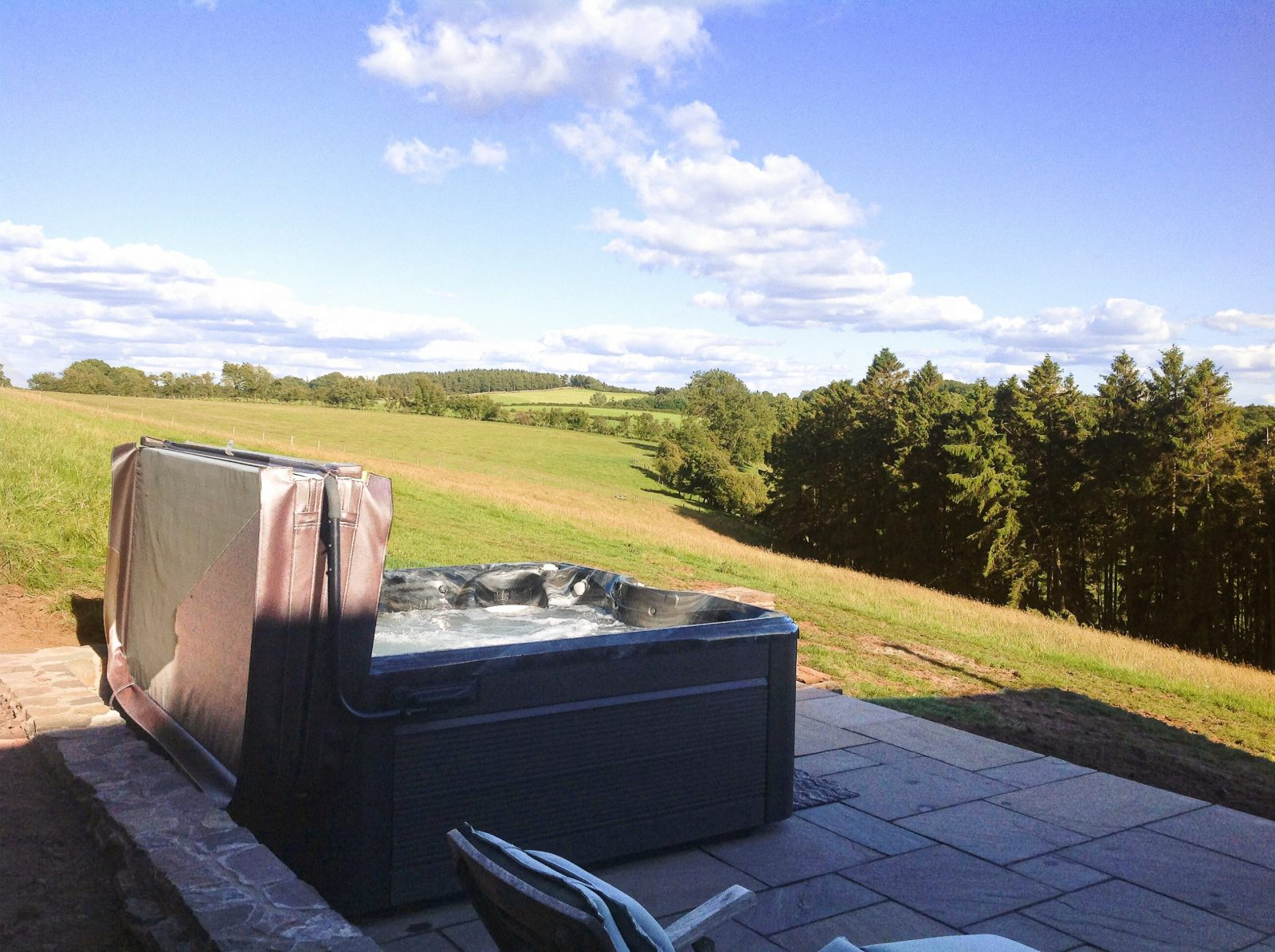 Upper Barn Hot Tub