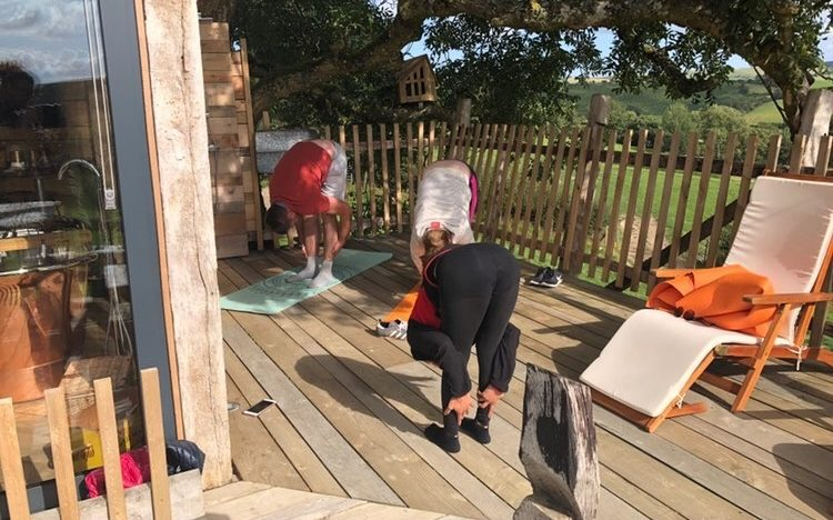 Yoga at Treehouse in Wales