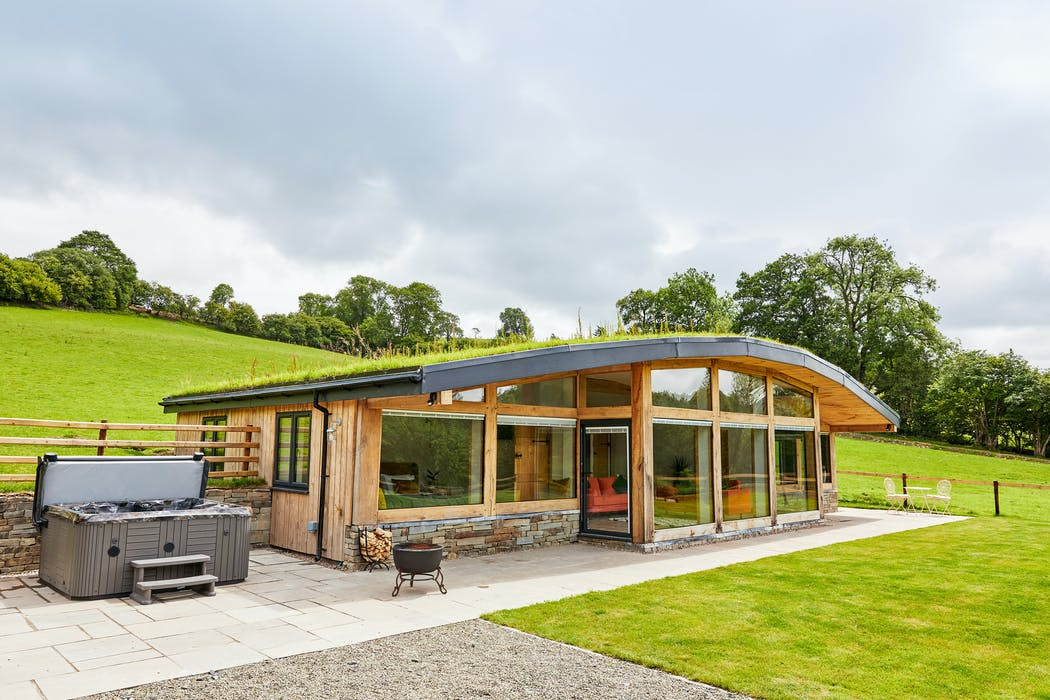 Quirky hobbit style home in Wales