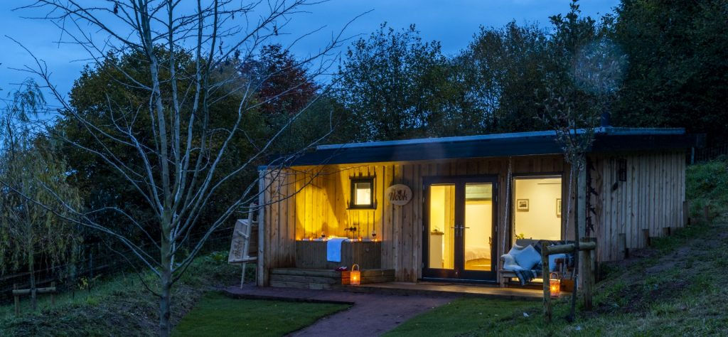 The Roost Glamping Cabins